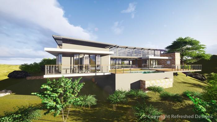 Refreshed Designs- House Joubert, Render 1