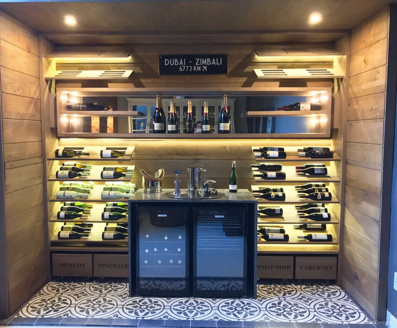 Refreshed Designs- Wine Cellar