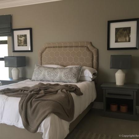 Refreshed Designs, Interior decor, furniture, Bedroom, lampshade, headboard