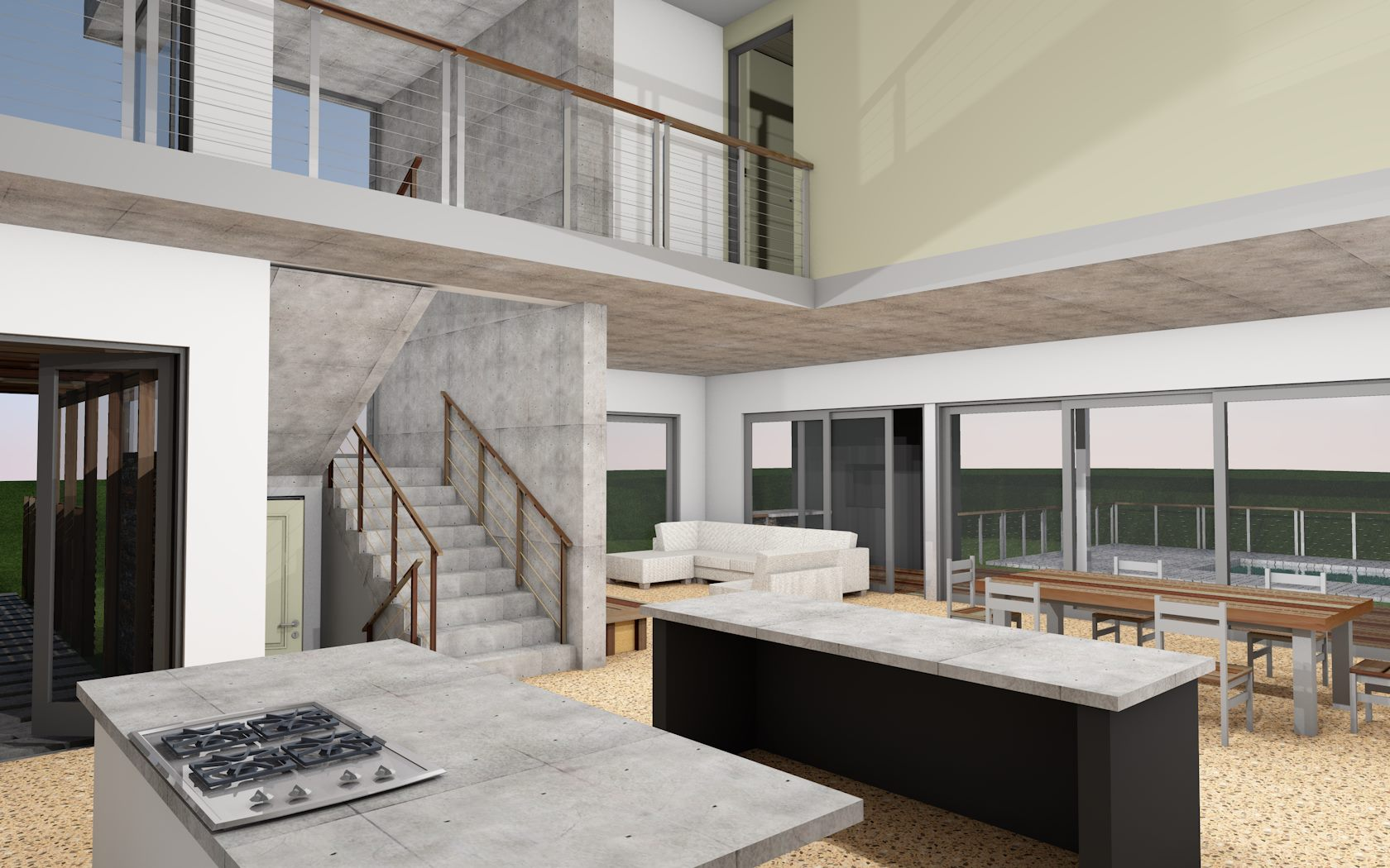 Refreshed Designs- House Pexa, Architecture render 4