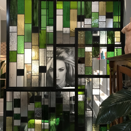 Refreshed Store Ballito- stained glass screen