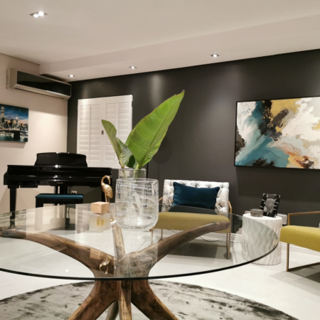 Refreshed Designs- House Sivalingam, Piano Room