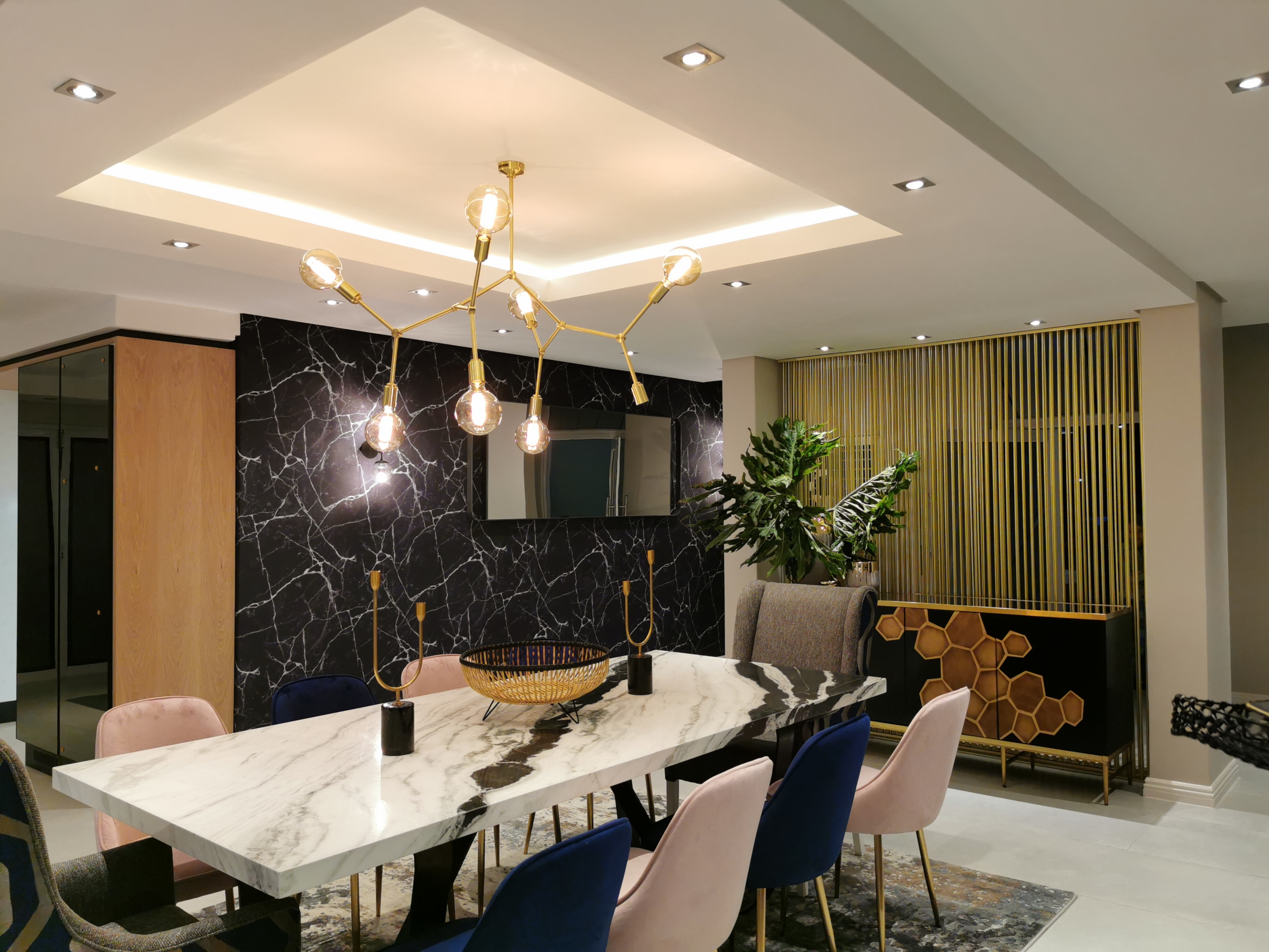 Refreshed Designs- House Sivalingam, Dining room