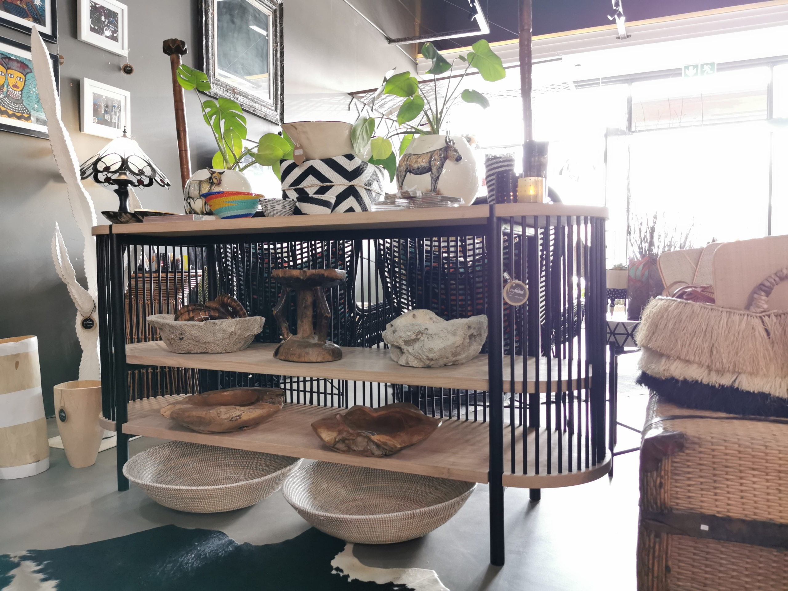 Refreshed Store Ballito- Furniture- server- oak